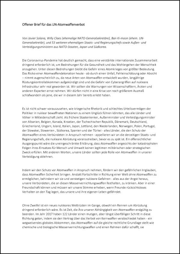 NATO Aussenminister Brief DE 2 T